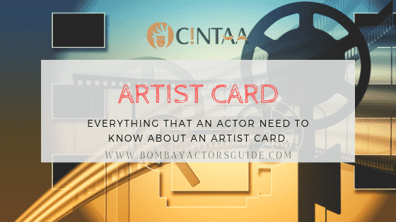 what is artist card – everything about CINTAA