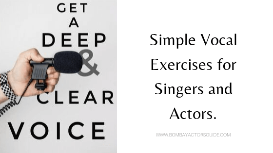 7 Voice Excercise​ you can do at home for Actors & Singers.