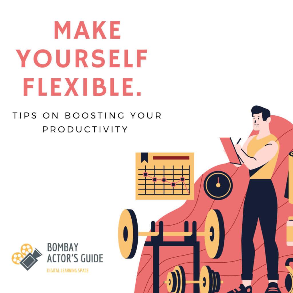 Workouts for actors